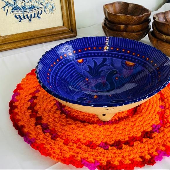 Knitted Vintage Pot or Bowl Table Holder
